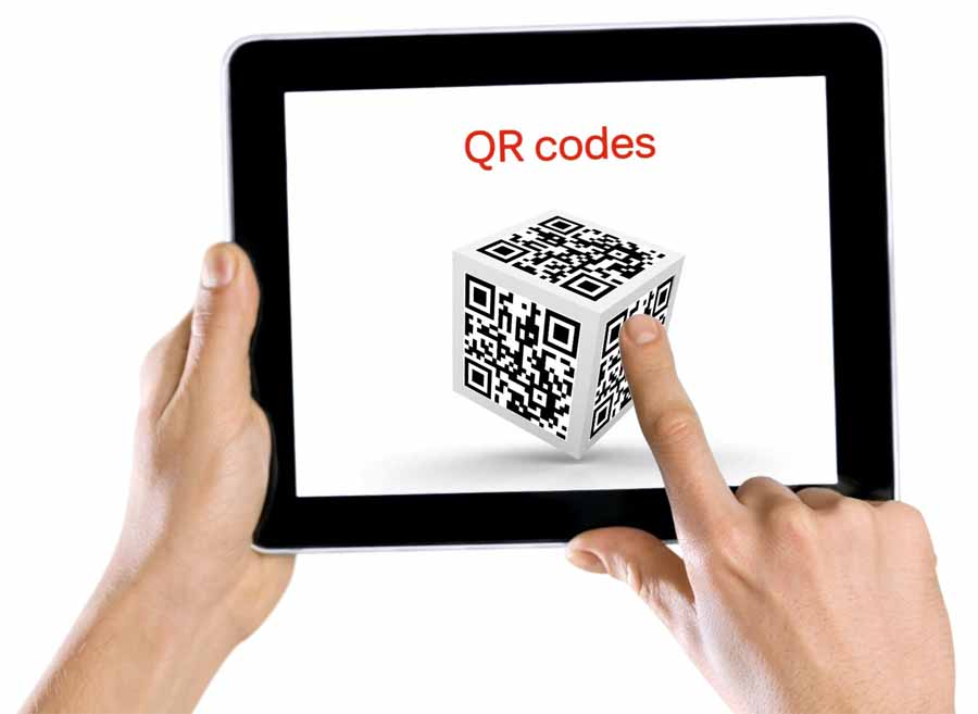 Click to learn about QR codes