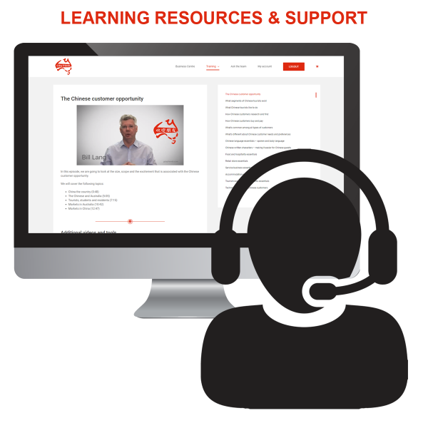 Learning resources and support