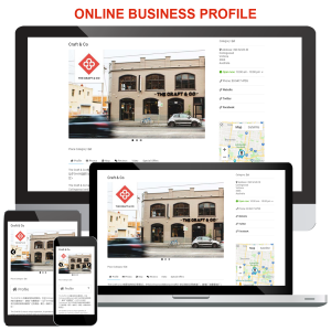 Online business profile